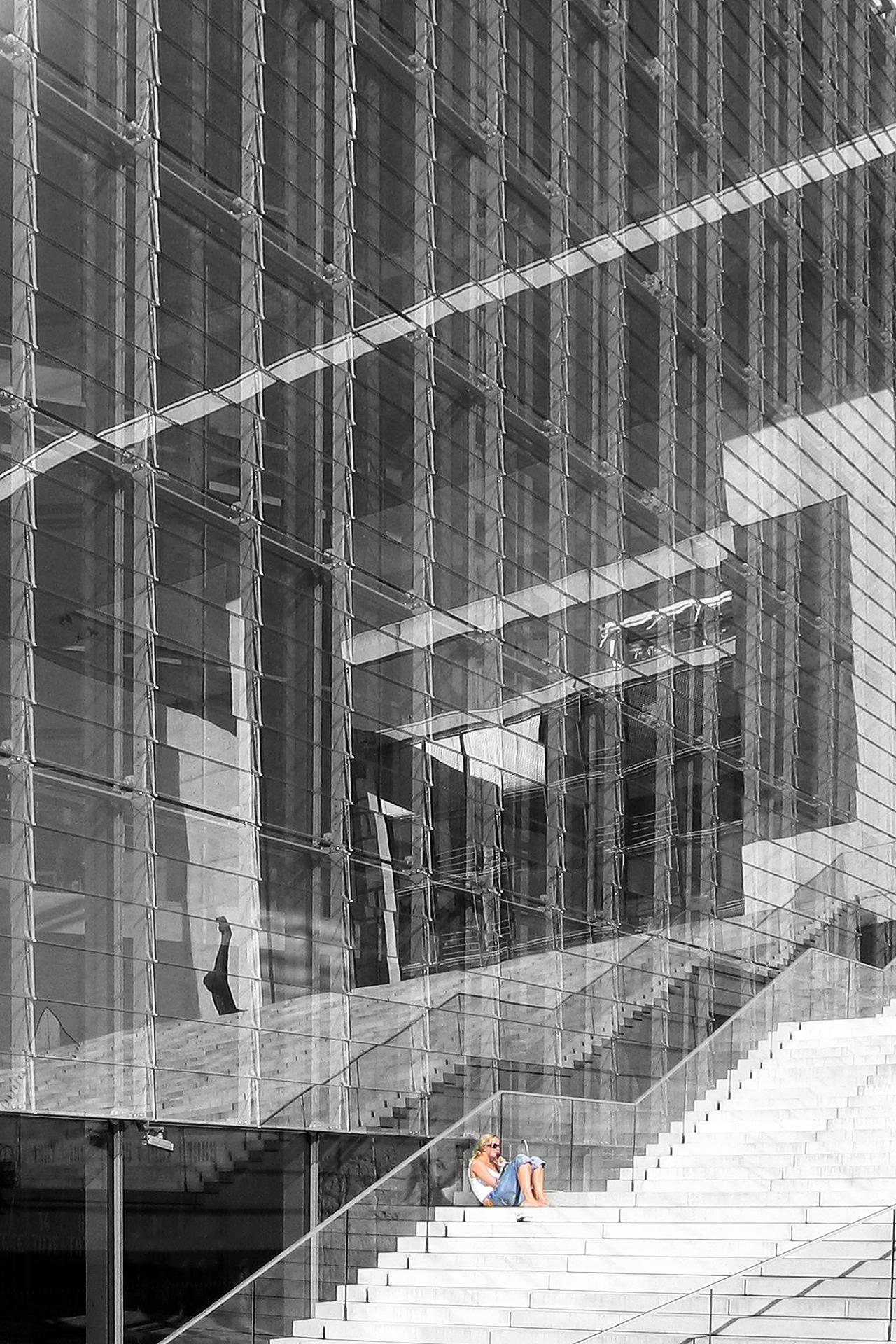 Glashaus In Berlin Digitalphoto