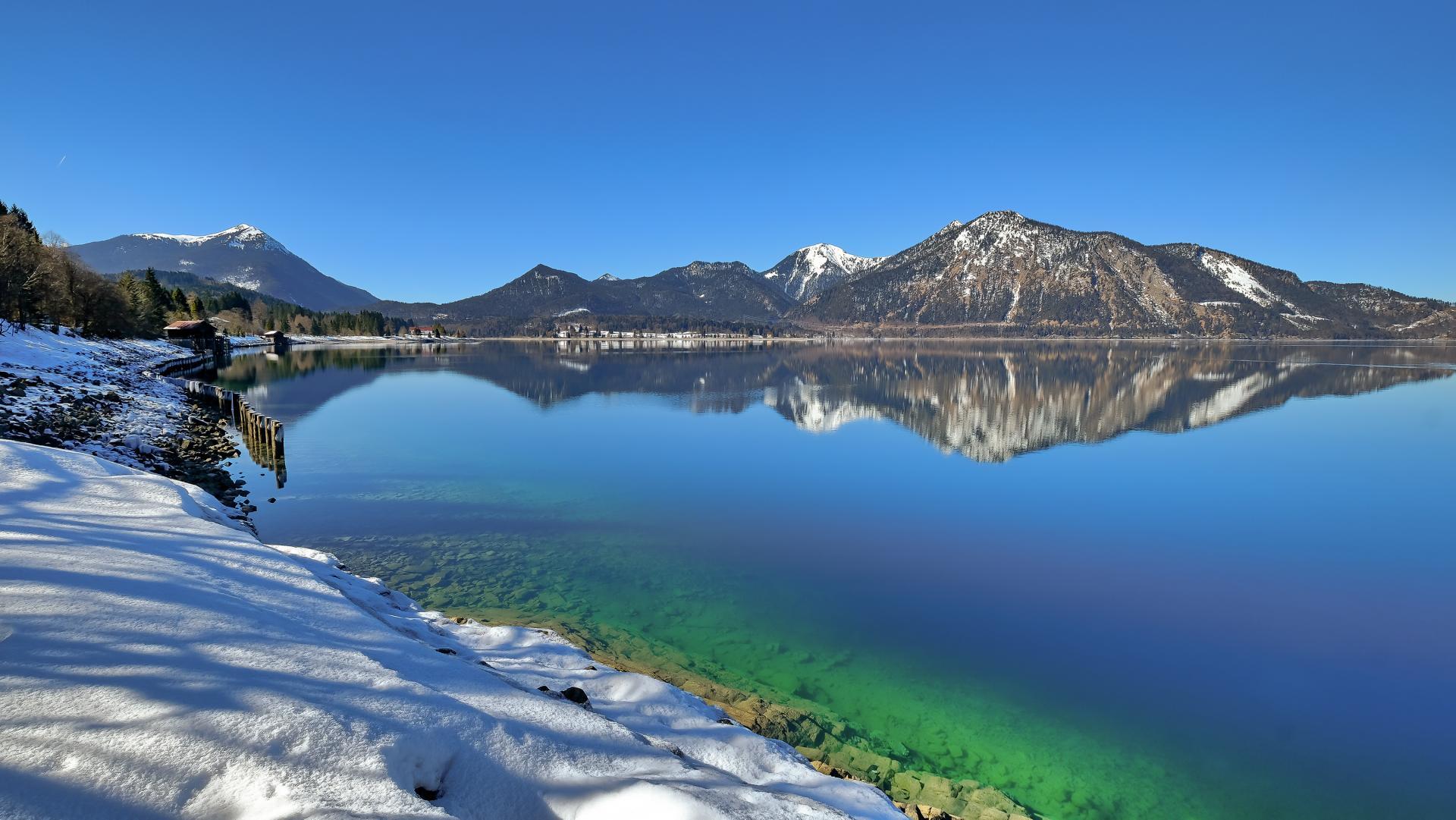 Walchensee Winter