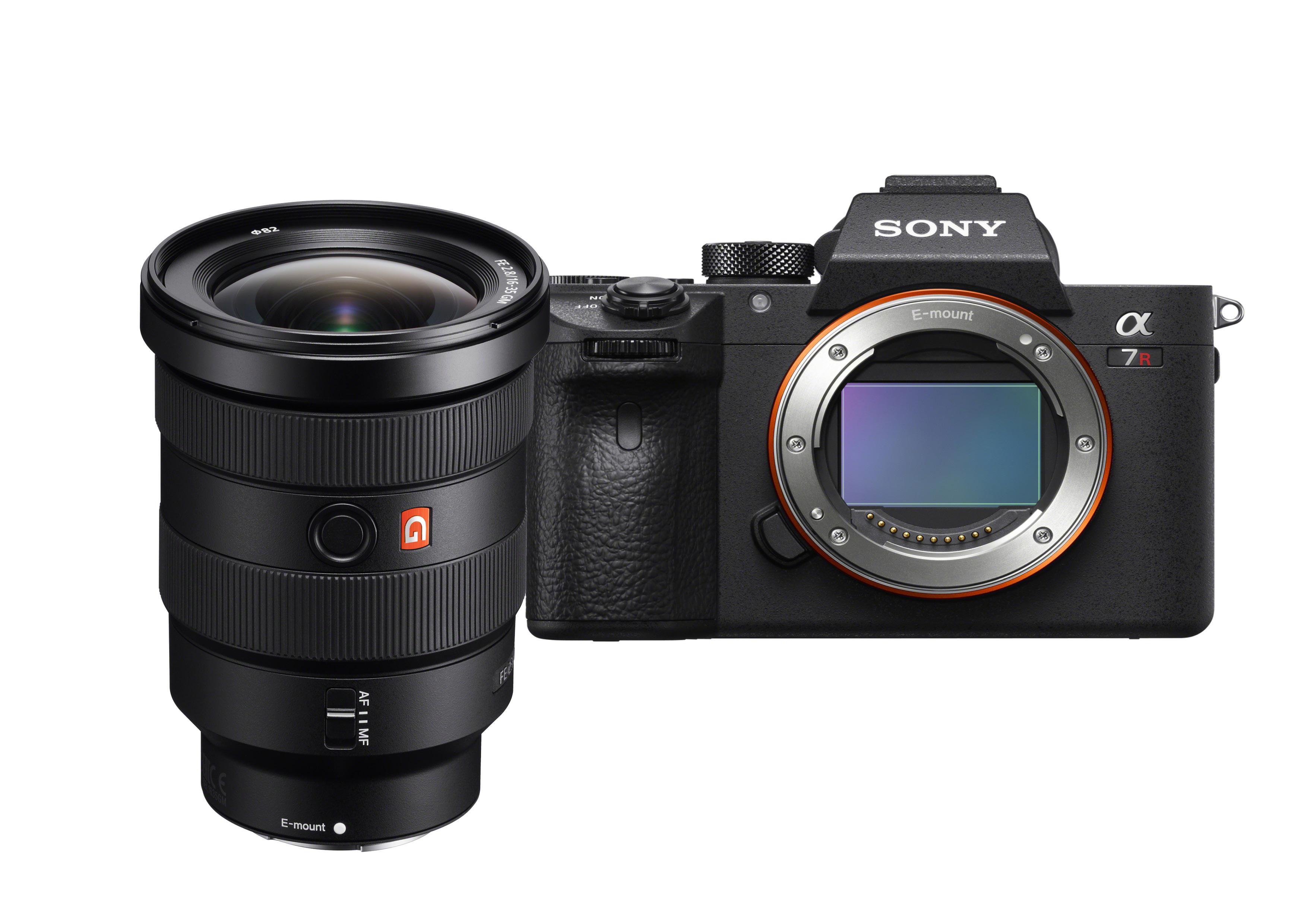 Profi -Kit für 5.698 Euro:Sony Alpha 7R III und Sony 16-35mm G-Master.