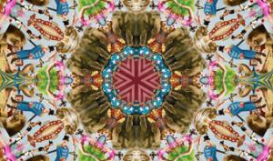 Photoshop-Montage: Kaleidoskop