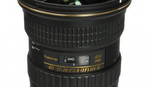 Tokina AT-X 116 Pro DX II für Sony Alpha