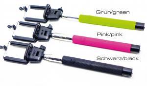 Selfie-Stick mit Bluetooth-Auslöser von Braun