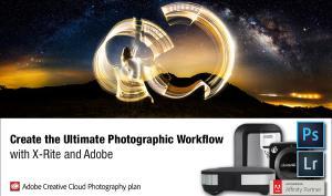 Foto-Deal: X-Rite-Produkt kaufen und Adobe Creative Cloud-Abo gratis erhalten