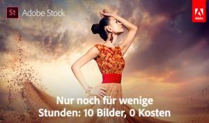 Adobe Stock schenkt Ihnen 10 Bilder!