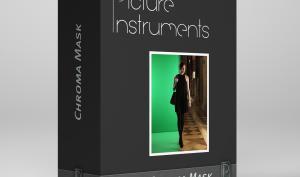 Chroma Mask: Motive vor farbigem Hintergrund freistellen