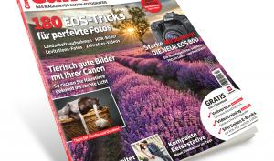 Ab jetzt im Handel: Das CanonFoto-Magazin 03/2016 mit großem Gewinnspiel