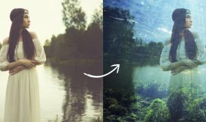 Retrolook: So gelingt die Doppelbelichtung in Photoshop