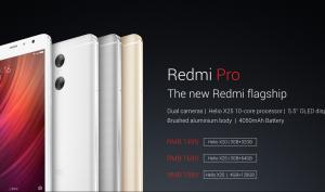 Redmi Pro: Smartphone mit Dualkamera zum Kampfpreis