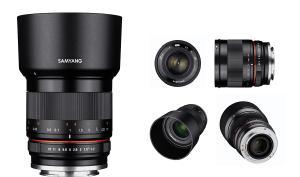 Festbrennweiten für spiegellose Kamerasysteme von Samyang