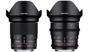 Samyang: Neue Ultraweitwinkel-Festbrennweiten für Fotografen und Filmer
