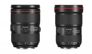 Canon präsentiert neues Standardzoom und neues Weitwinkel-Objektiv