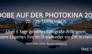 Adobe auf der Photokina: Fünf Tage geballtes Foto-Know-how