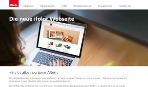 ifolor mit neuem Webauftritt