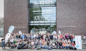 Ausstellung zum 3. Kölner Fotomarathon im Köln Hauptbahnhof