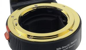Adapter für Nikon-Objektive auf Sony-E-Mount
