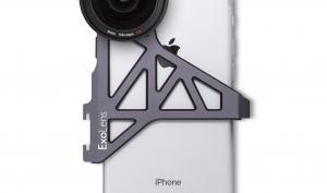 ExoLens PRO Objektive mit Zeiss-Optik und Halterung für iPhone 7