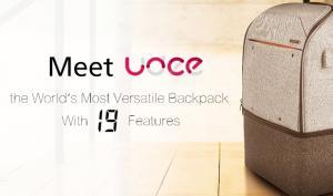Blick auf Kickstarter: Udee, der multifunktionale Rucksack