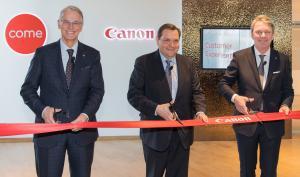 Canon weiht neue Firmenzentrale in Krefeld ein