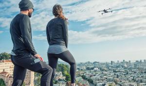 Blick auf Kickstarter: Drohne bei Fuß