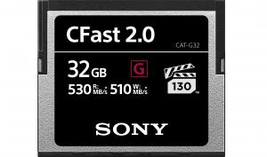 Sony stellt neue CFast 2.0 Speicherkarten vor