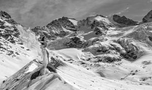 Rollei Gletscher-Shooting: Extremer Härtetest für Model und Material