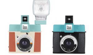 Blick auf Kickstarter: LomographyDiana Instant Square