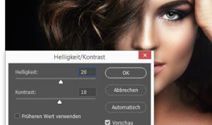 Photoshop - Helligkeitswerte und Kontraste steuern
