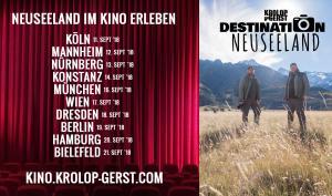 """Krolop und Gerst auf Kinotour: """"Destination Neuseeland"""""""