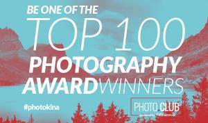 'Top 100 Photography Award' mit Preisen über 500.000 Euro zur photokina