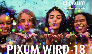 Pixum feiert seinen 18. Geburtstag – wir gratulieren