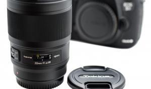 Tokina opera 50mm F1.4 FF: für Canon EF- und Nikon F-Anschluss