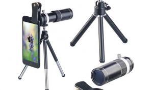 Somikon - Neues Vorsatz-Tele-Objektiv für Smartphones