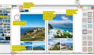 Fotobücher einfach und schnell dank SmartLayout gestalten