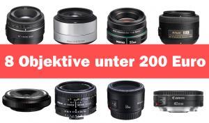 Festbrennweiten unter 200 Euro! Acht günstige Objektive im Test