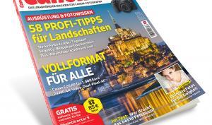 CanonFoto 04/2019 ab sofort erhältlich: 58 Profi-Tipps für Landschaftsfotografie + Canon EOS Bestenliste