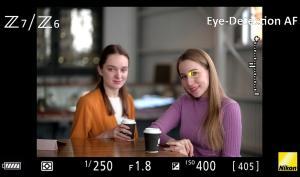 Spannendes Firmware-Update: Nikon Z6 und Nikon Z7 - Autofokus mit Augenerkennung