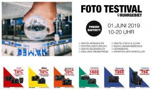 Foto Testival: Exklusive Messerabatte, kostenloser Kamera-Verleih & vieles mehr!