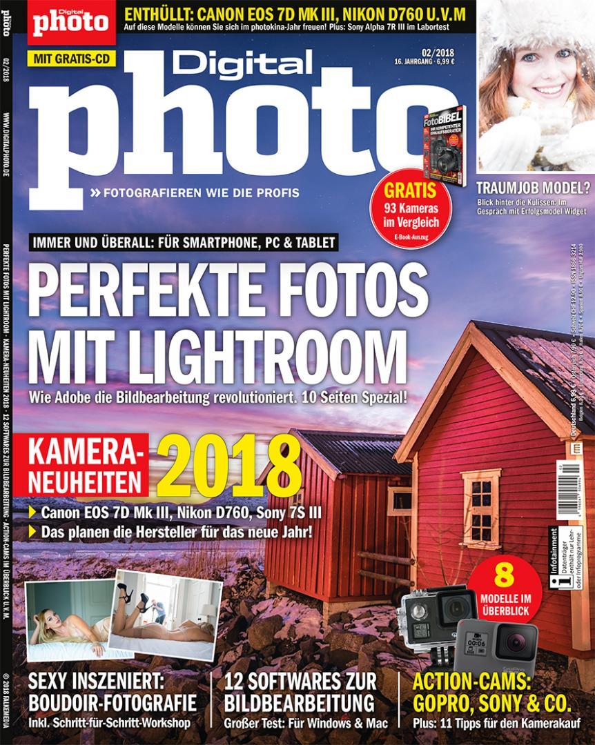 Aktuelle Ausgabe canonfoto 6 2017 digitalphoto