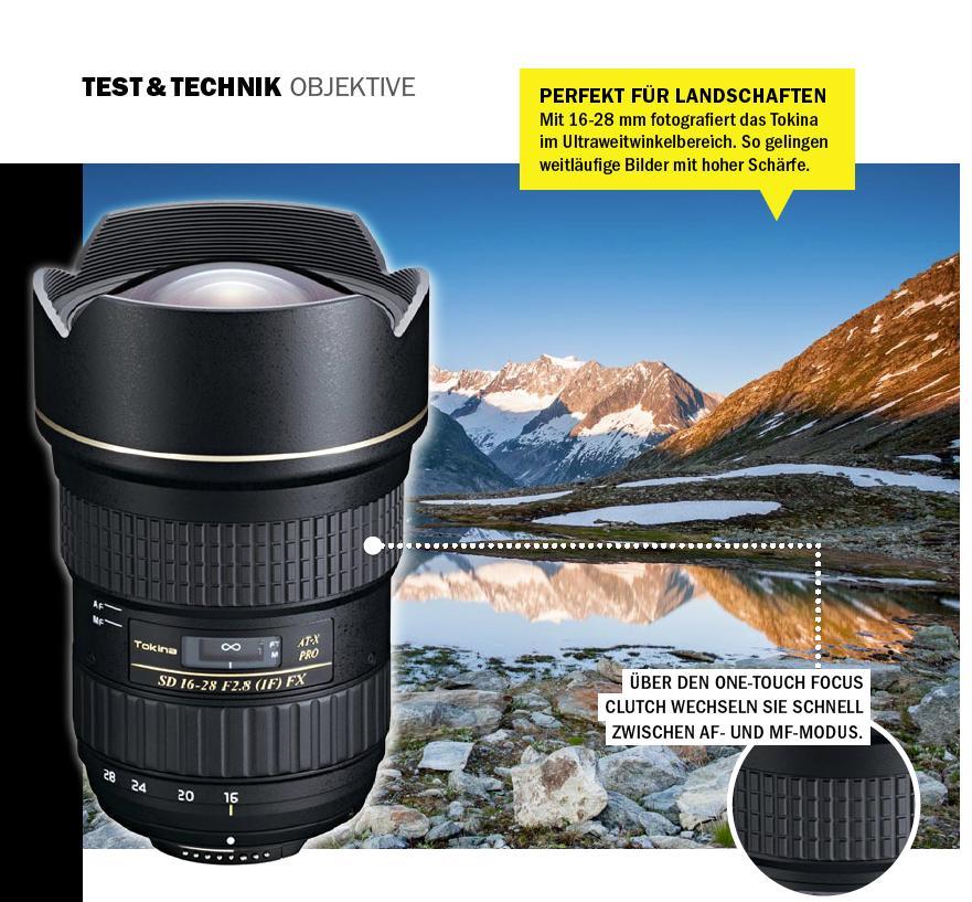 Mit Weitsicht: Tokina AT-X 16-28mm F2,8 PRO FX | DigitalPHOTO