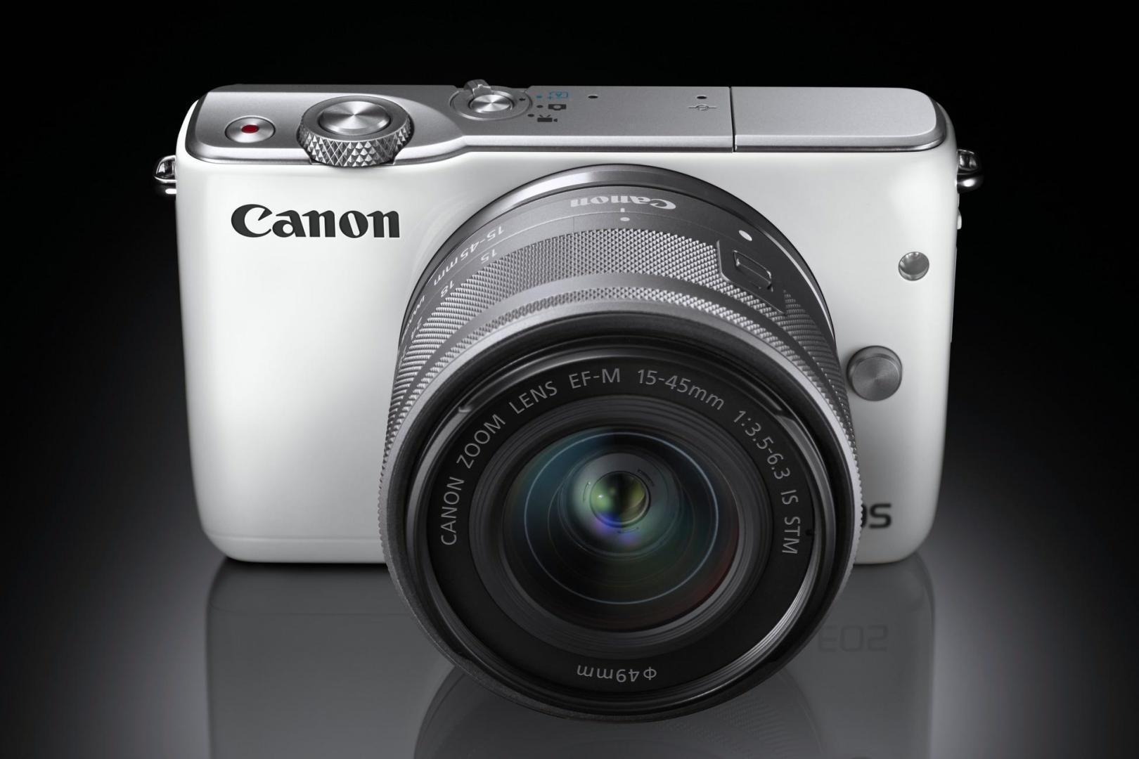 Spiegellose Canon Eos Fr Ein Und Umsteiger Digitalphoto M10 Kit 15 45 Is Stm M 10 Die
