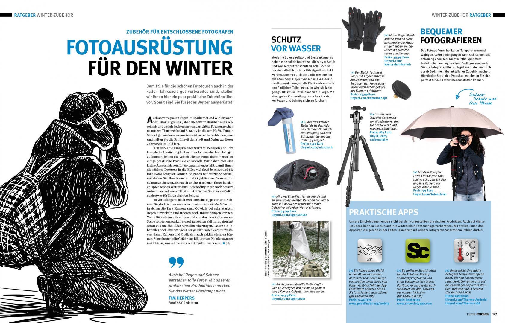 130 fototipps f r den winter die neue fotoeasy ausgabe 1. Black Bedroom Furniture Sets. Home Design Ideas