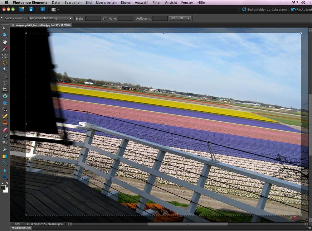 Photoshop Elements 9: Bildausschnitt & Ausrichtung | DigitalPHOTO