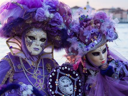 Masken in Venedig