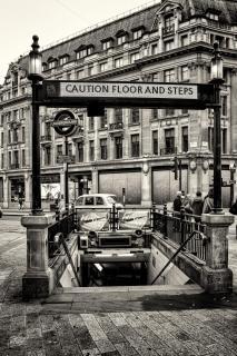 Ab zum Londoner Underground
