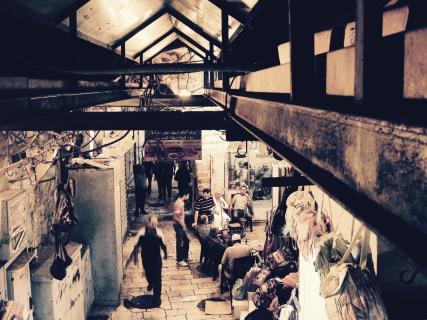 Jerusalems Straßenmarkt