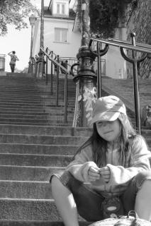 Girl at Montmartre