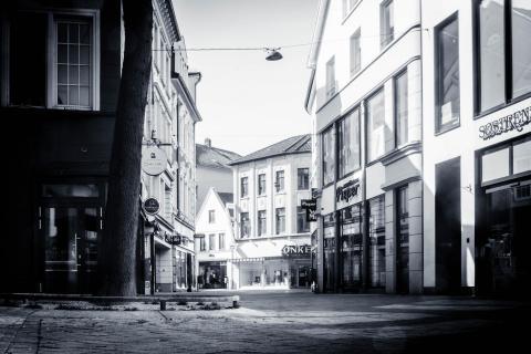 CORONA-Innenstadt in Oldenburg