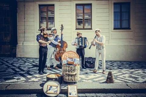 Prag - Musiker