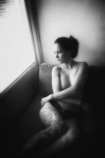 Gedanken am Fenster