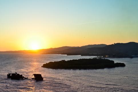Sunset at Roatan